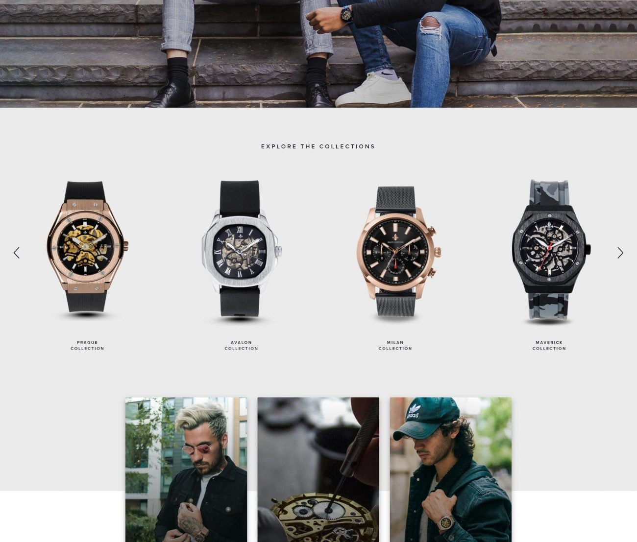 watch product animation for ralph christian website