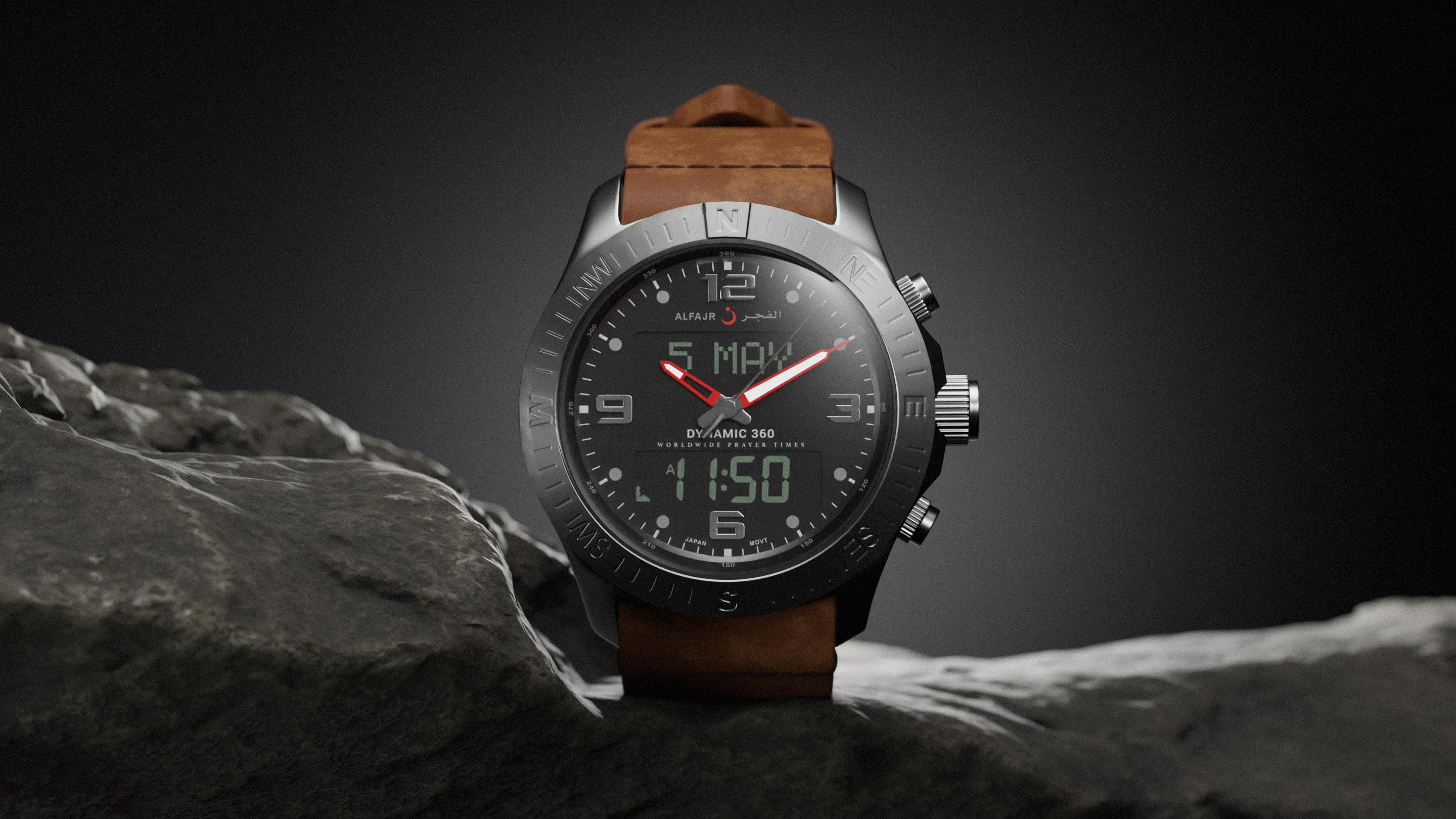 Creative watch product photography